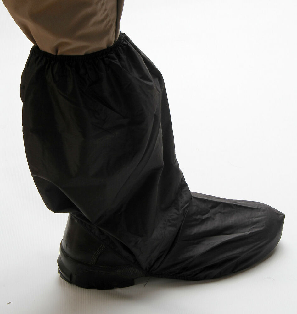 waterproof motorcycle boot boots shoe covers cover ebay
