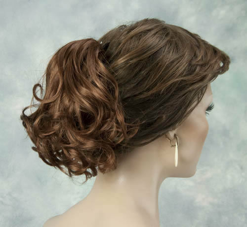 New Cute Wavy Short Clip In Hair Piece Ponytail Choose