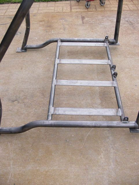 S L on 66 Ford Bronco Roll Bar