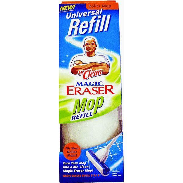 Mr Clean Magic Eraser Roller Mop Refill Replacement Ebay