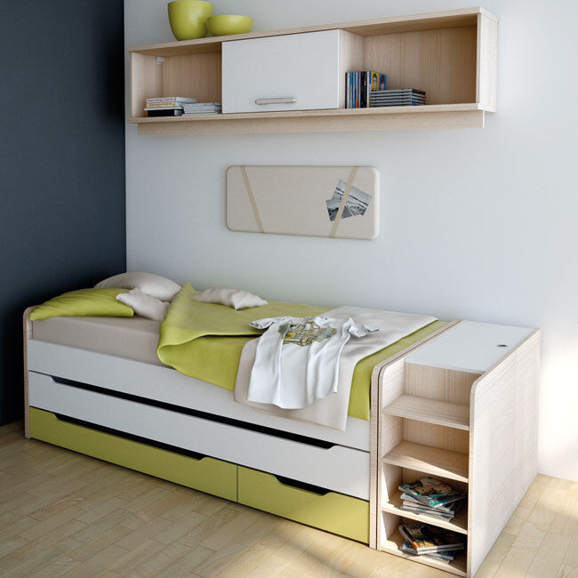 wellem bel unlimited kojenbett mit g stebett bett mit schubladen jugendbett ebay. Black Bedroom Furniture Sets. Home Design Ideas