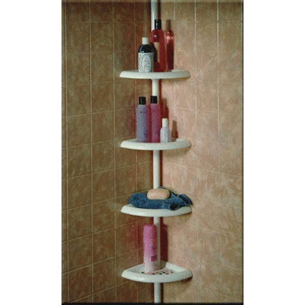Bathroom Shower Corner Shelves: Shower Tub Corner Shelf Caddy Bathroom Soap Organizer