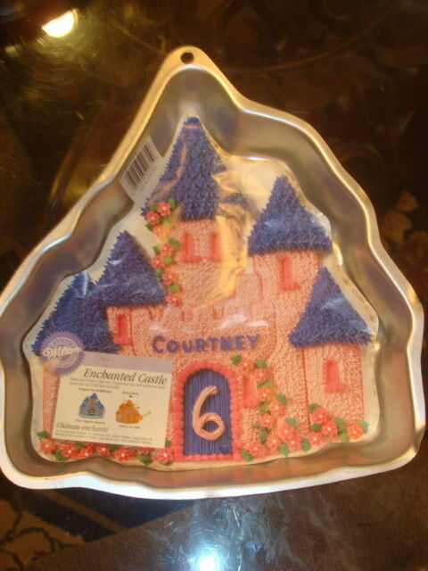 Wilton Enchanted Castle Cake Pan New Ebay