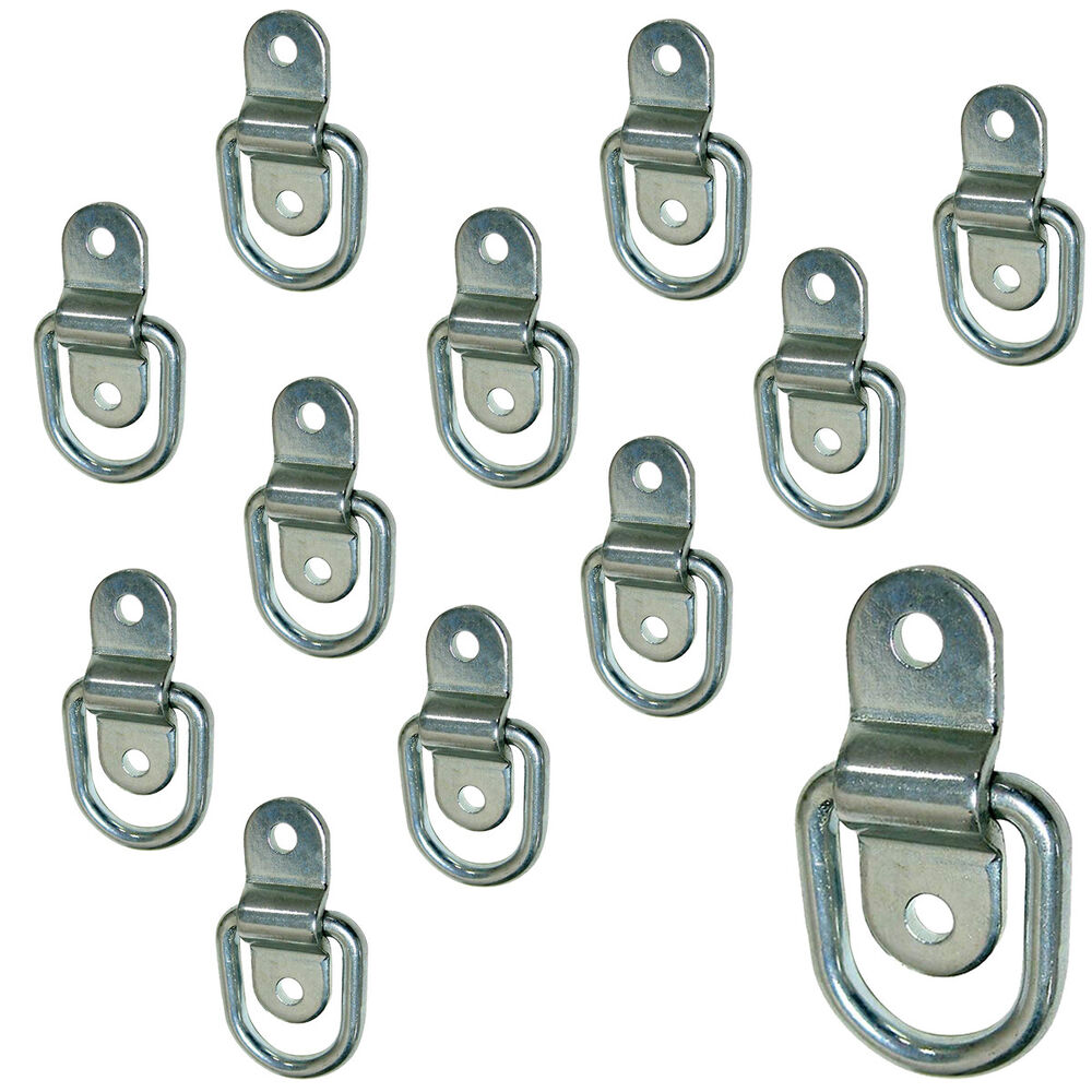 Stainless Steel D Ring Tiedowns 2 500 Lb Capacity Tie