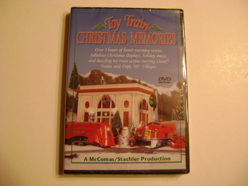 Toy Trains And Christmas : Toy train christmas memories dvd by tm ebay