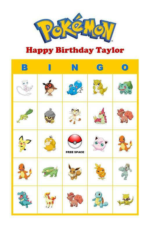 Accomplished image pertaining to printable pokemon party games