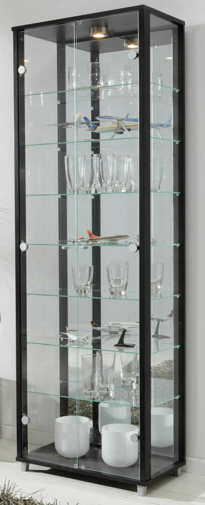 ikea glasvitrine mit beleuchtung. Black Bedroom Furniture Sets. Home Design Ideas
