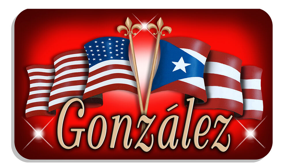 Puerto Rico Usa Unity Flags Decal Bumper Sticker
