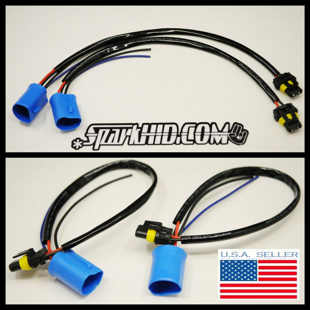 hid wire harness ballast connector 9007 9004 bulbs saturn ion endeavor neon ebay