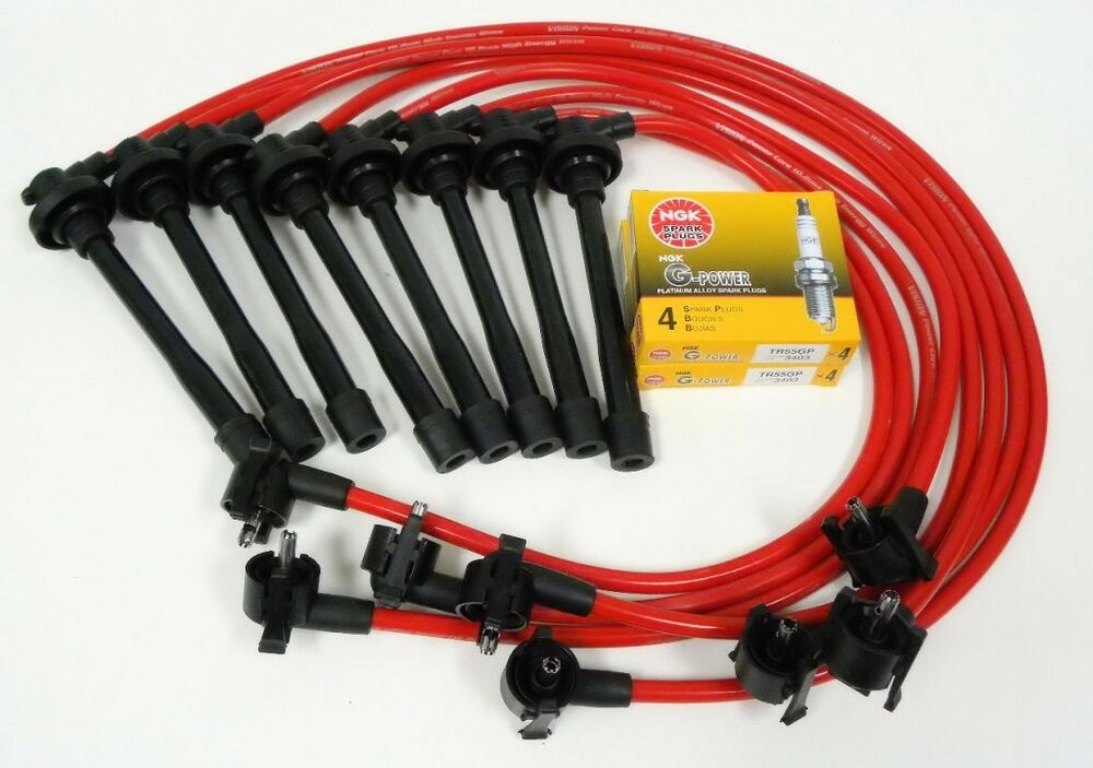 mustang spark plug wires ebay