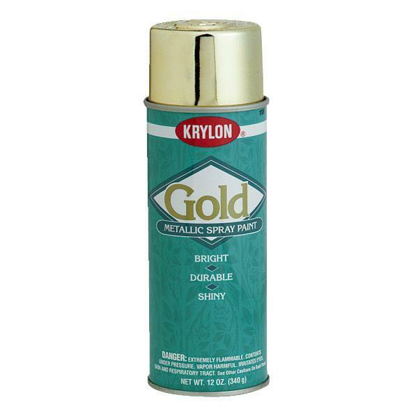 krylon gold metallic spray paint 1706 ebay. Black Bedroom Furniture Sets. Home Design Ideas