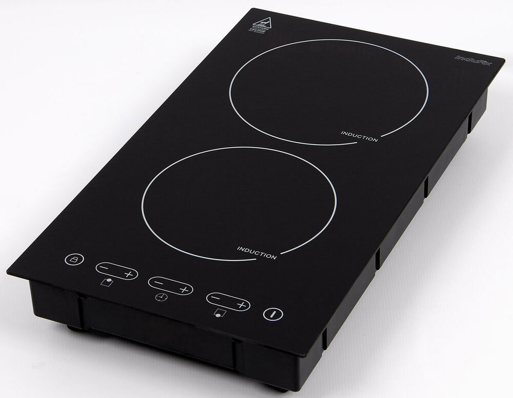 domino induction hob sensor touch control built in ebay. Black Bedroom Furniture Sets. Home Design Ideas