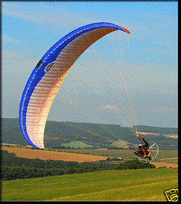 Macpara Velvet Powered Paraglider Wing For Paragliding Ebay