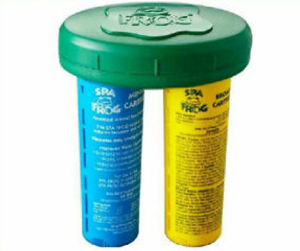 Spa Frog Floating System Mineral Bromine Cartridge Tub Ebay