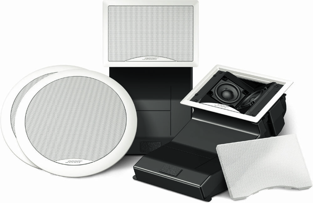 New Bose 191 Invisible In Wall In Ceiling Speakers Pair