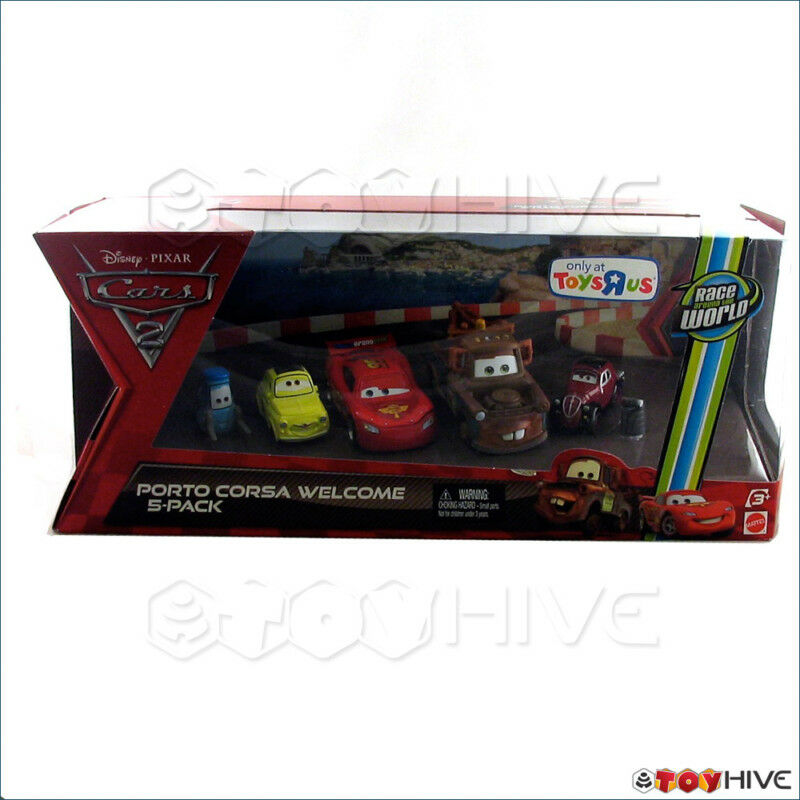 Toys R Us Toy Cars : Disney pixar cars porto corsa welcome pack toys r us