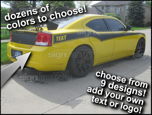 06 07 08 09 2010 Dodge Charger Side Stripe Decal Custom Ebay