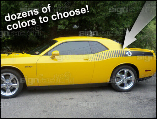 Dodge Challenger Side Stripes Rt Srt 2009 2010 2011 2012