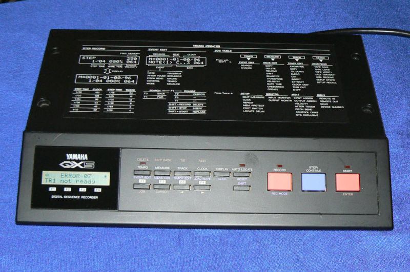 Yamaha Qx Digital Sequence Recorder