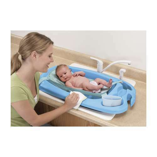 new safety 1st 3 in 1 cradle comfort baby bath tub ebay. Black Bedroom Furniture Sets. Home Design Ideas