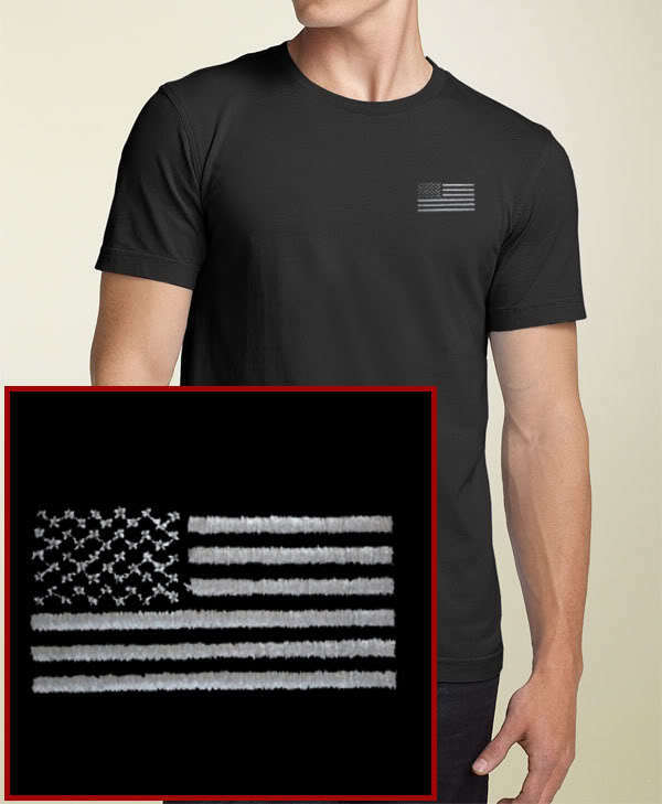 American Flag T Shirt Mens