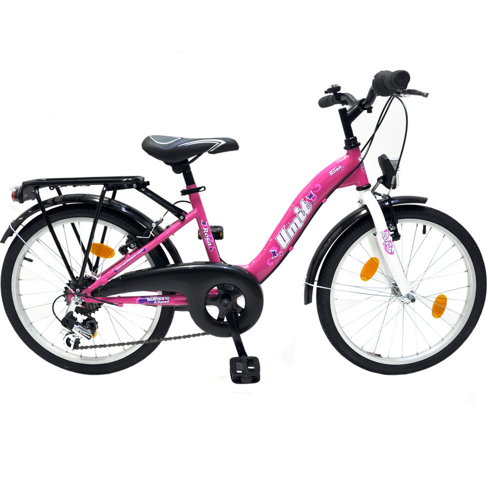 m dchenfahrrad 20 6 gang shimano fahrrad 20 zoll kinderfahrrad neu rosa neu tma ebay. Black Bedroom Furniture Sets. Home Design Ideas