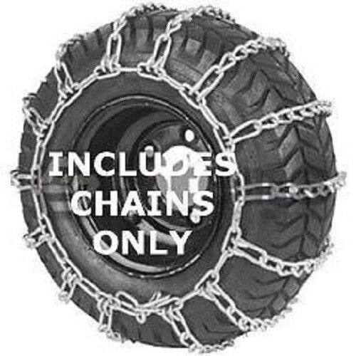 Tractor Tire Chain Links : Tractor tire chains link spacing ebay