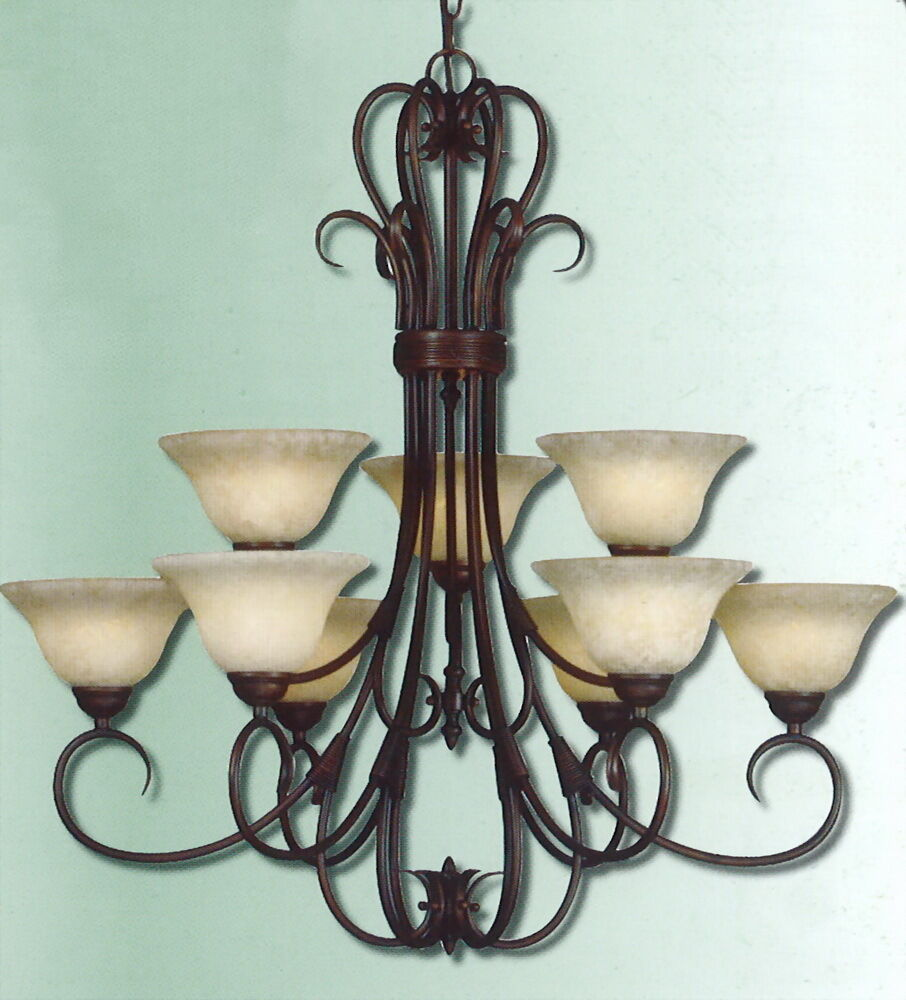 oil rubbed bronze chandelier rubbed bronze 9 light x large chandelier ebay 28615