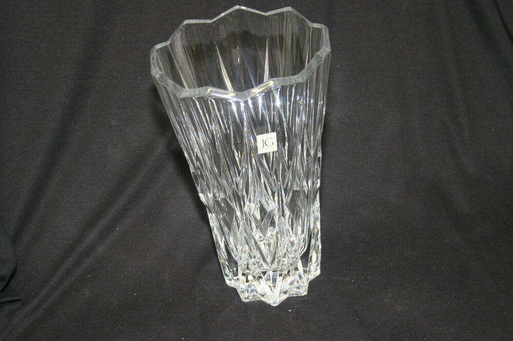 jg durand crystal cathedral vase new ebay. Black Bedroom Furniture Sets. Home Design Ideas