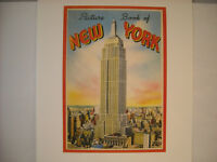 Vintage New York City Picture and Tourist Book Cover