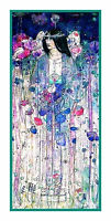 Art Nouveau In Fairyland by C.R. Mackintosh Counted Cross Stitch Chart