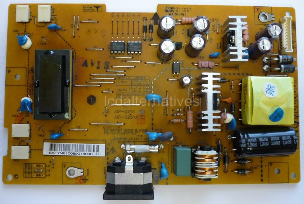 repair kit lg w2240t pn lcd monitor capacitors only. Black Bedroom Furniture Sets. Home Design Ideas
