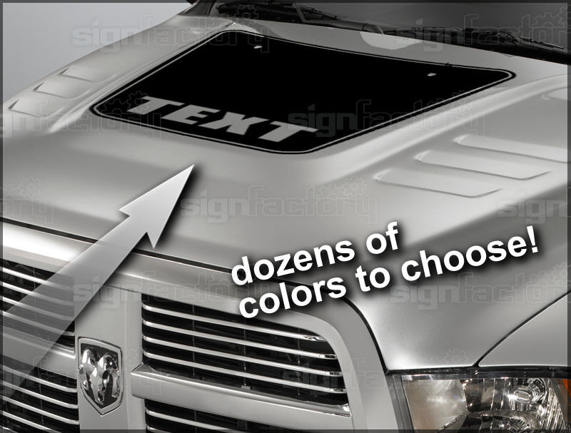 2010 2011 2012 2013 2014 dodge ram ram hd hood stripe. Black Bedroom Furniture Sets. Home Design Ideas