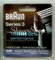 BRAUN 30B 7000/4000 SYNCRO SERIES 3 Replacement Shaver/Razor FOIL+CUTTER BLOCK