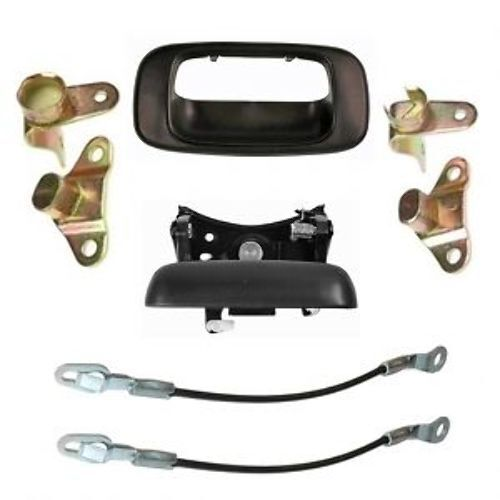 2001 Chevy Silverado 1500 Parts Tailgate Handle with Bezel, Hinges & Cables Fits 1999-2006 ...