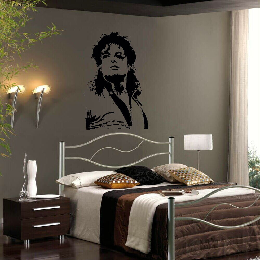 Micheal jackson giant wall mural lounge art sticker decal for Jackson 5 mural