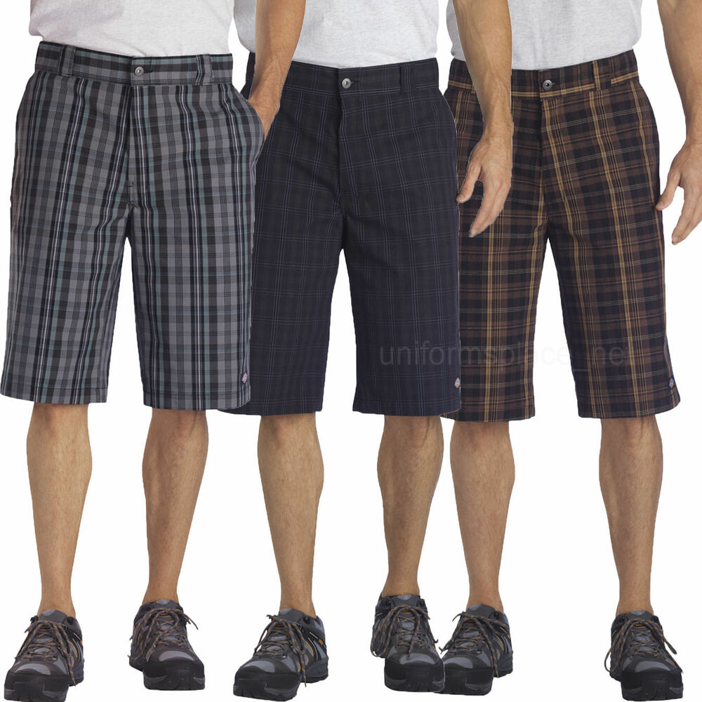 "Mens Dickies Shorts 13"" REGULAR FIT Cell Phone Pocket ..."