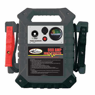 1770 peak 660 cranking amp battery booster pack jump starter box w 74 cables ebay. Black Bedroom Furniture Sets. Home Design Ideas