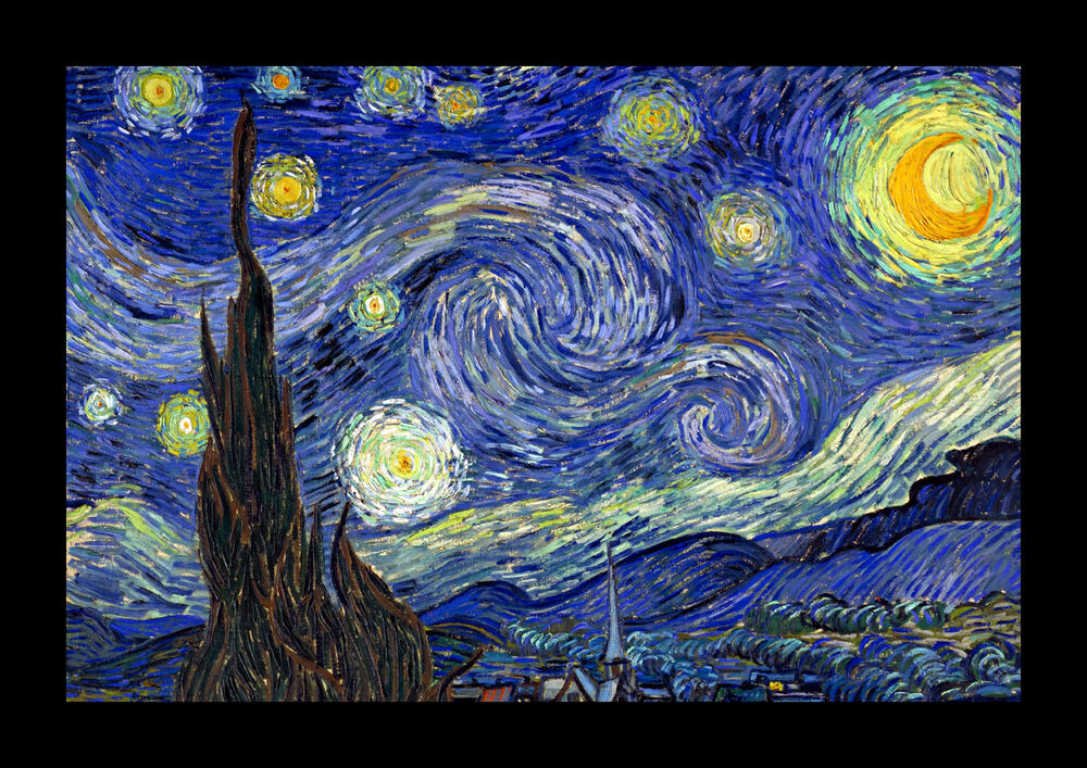 It's just a graphic of Current Starry Night Printable