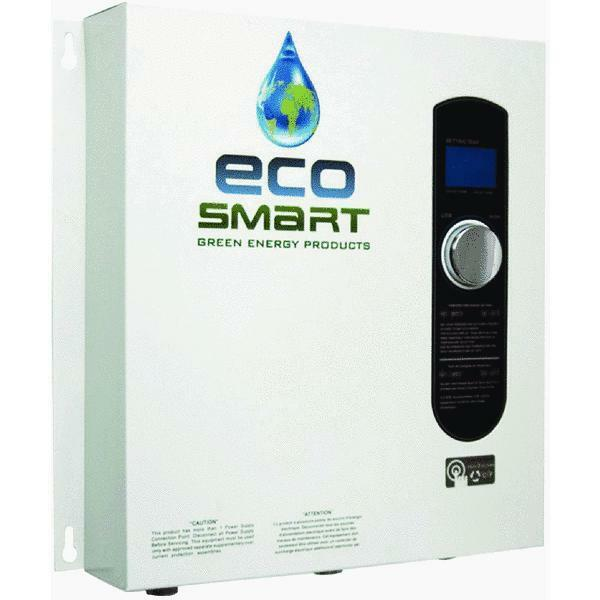 Best Electric Tankless Water Heater : Ecosmart v single phase kw electric tankless water