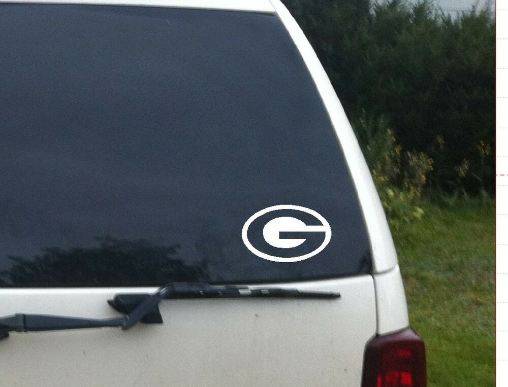 Green Bay Packers Car Truck Window Vinyl Decal Sticker Nfl