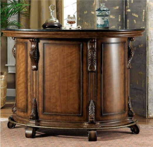 TUSCAN OLD WORLD STYLE HOME DECOR WINE LIQUOR MINI BAR PUB