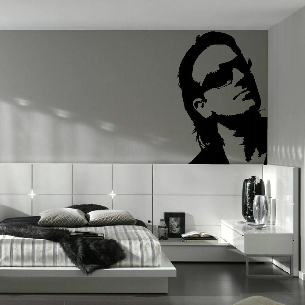 vinyl wall decals bono u2 large kitchen wall mural graphic sticker 29612