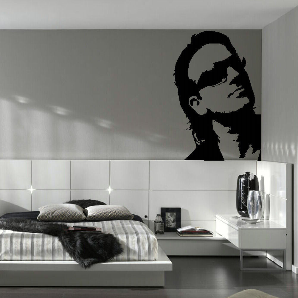Bono u2 large kitchen wall mural giant art graphic sticker for Large kitchen wall decor