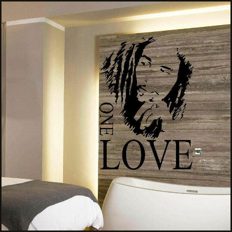 Bob marley large kitchen wall mural giant art graphic - Sticker geant mural ...