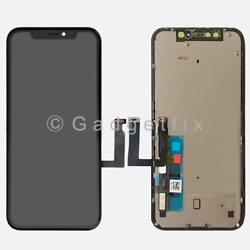 Kyпить US For Iphone XR Display LCD Touch Screen Digitizer Frame Back Plate Replacement на еВаy.соm