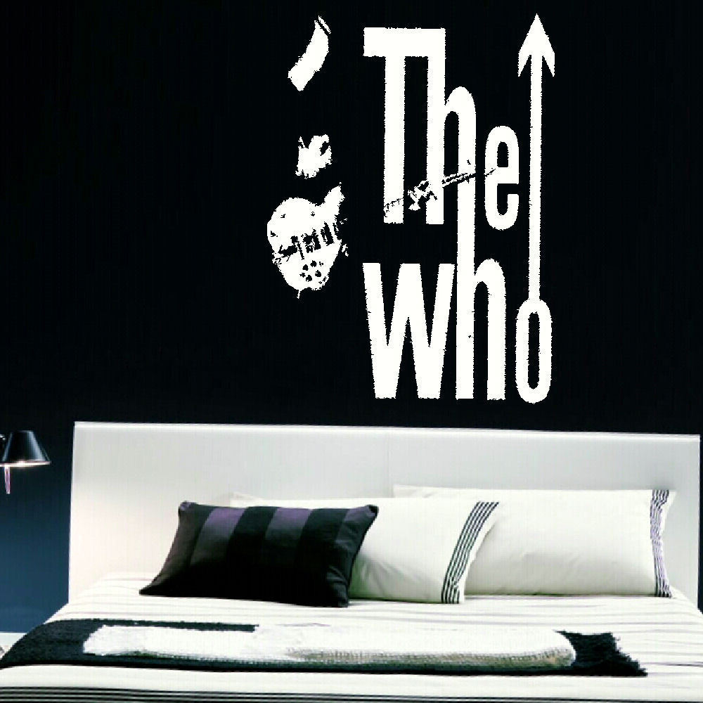 THE WHO LARGE KITCHEN BEDROOM WALL MURAL GIANT ART STICKER DECAL MATT VINYL  eBay