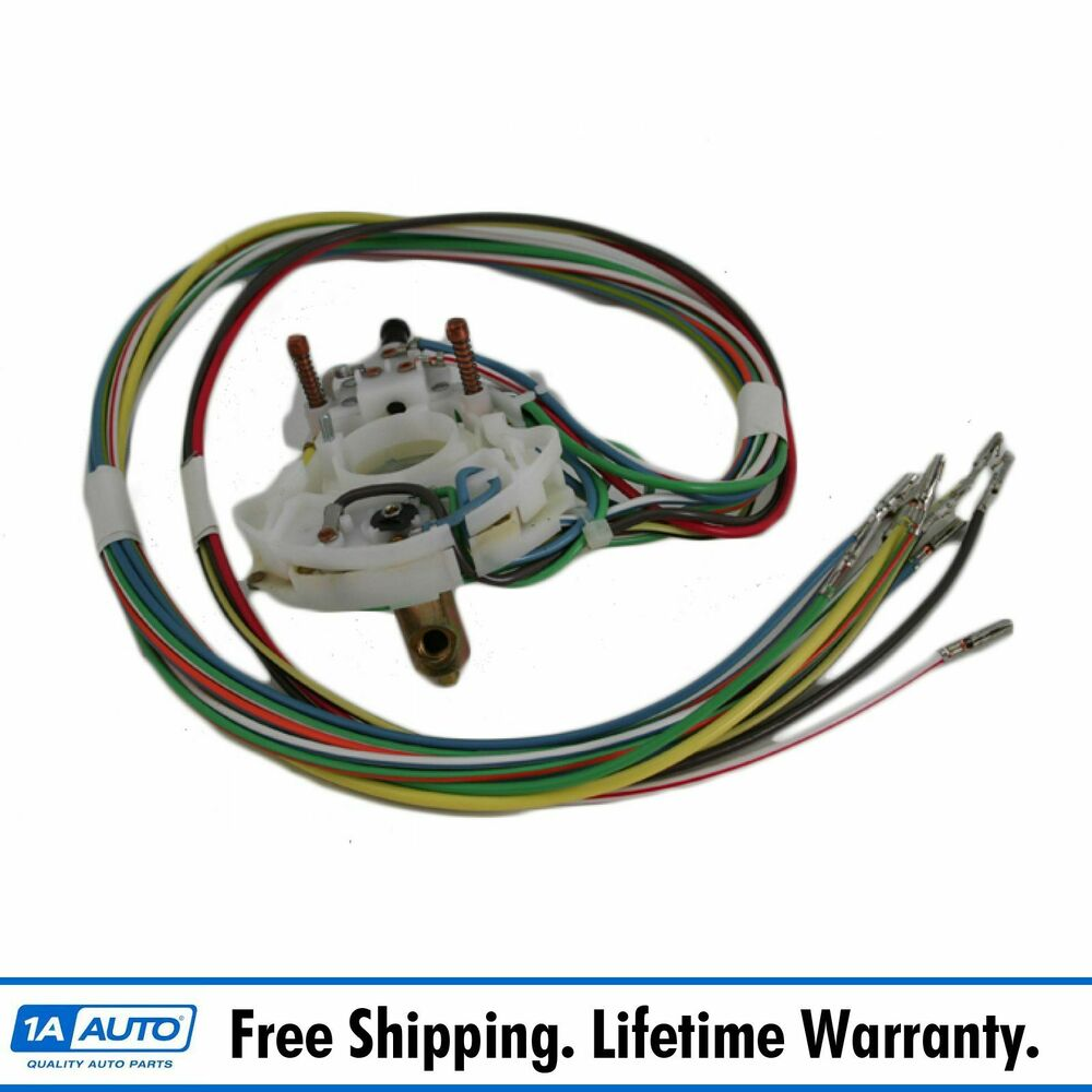 4 wire turn signal switch wiring diagram 68 cougar turn signal switch wiring diagram turn signal switch for 68 mustang thunderbird cougar | ebay