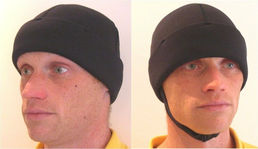 Details about Wetsuit 3mm neoprene beanie hat. Very warm   water resistant  - strap fitting too 1711adcfe15
