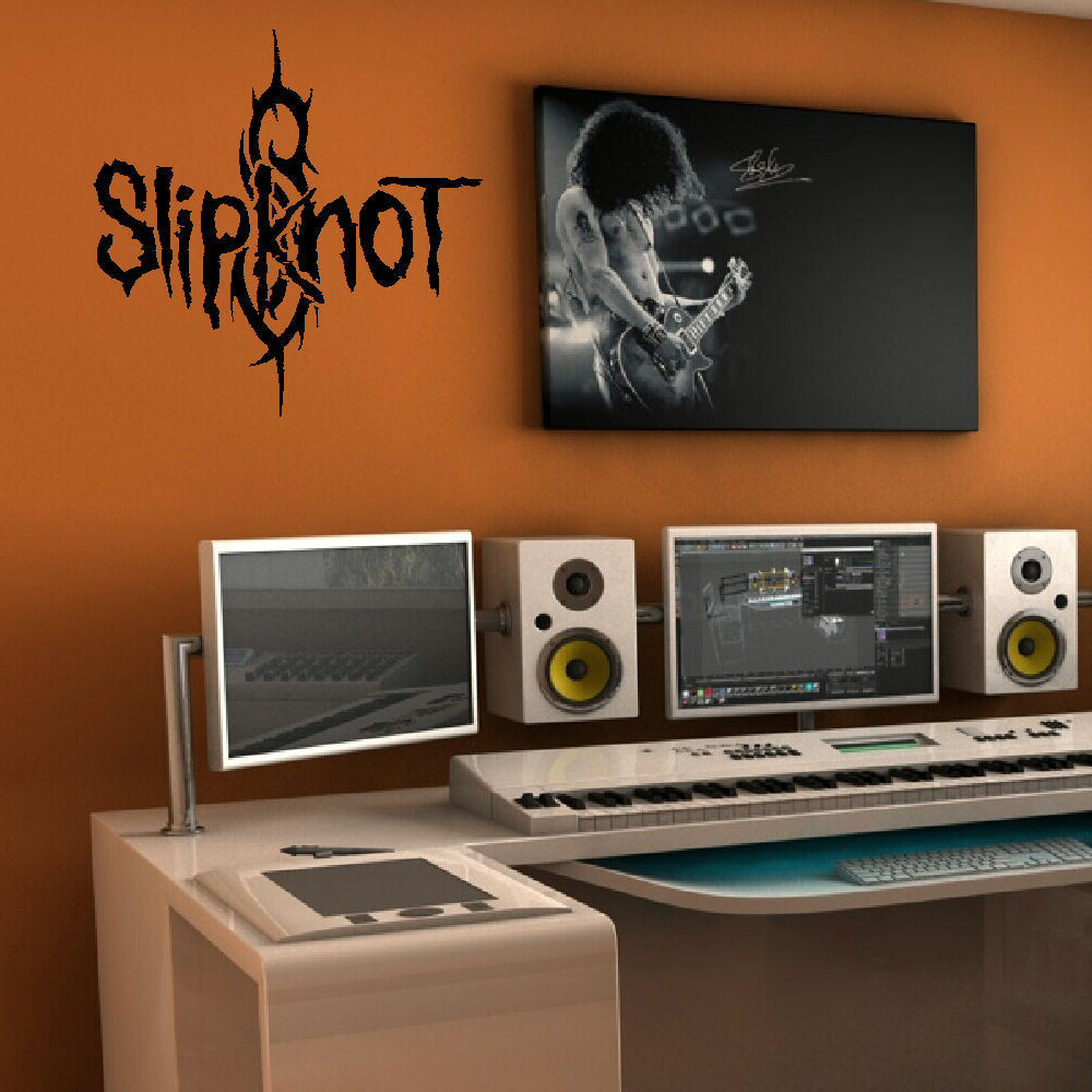wall decals for bedroom slipknot large bedroom lounge wall mural sticker 17734